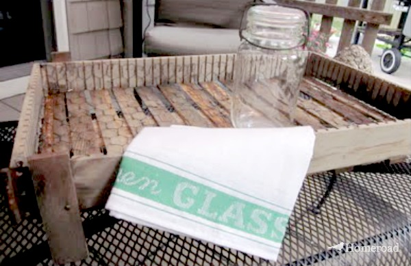 DIY French Vegetable Crate