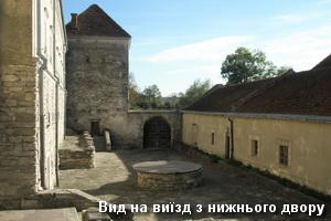 Брама з нижнього двору замку