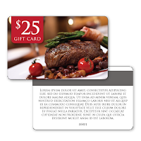 Gift Card for Restaurants