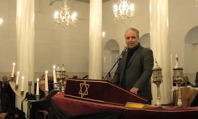 """Κεντρική ομιλία του Ν. Λυγερού στην Εθνική Ημέρα Μνήμης των Ελλήνων Εβραίων Μαρτύρων και Ηρώων του Ολοκαυτώματος με θέμα: """"Από τους Μάρτυρες και τους Ήρωες του Ολοκαυτώματος στα Δικαιώματα της Ανθρωπότητας"""""""