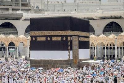 Kain Kiswah di Gulung Sepanjang Musim Haji