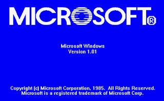Sistem Operasi Windows Versi 1.0