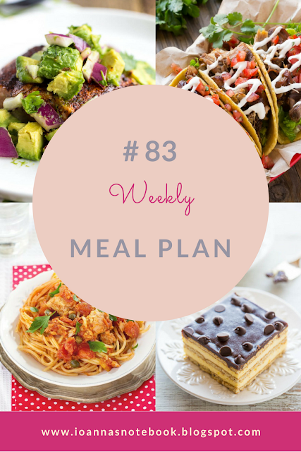 Meal Plan # 83 - Ioanna's Notebook