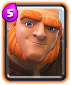 Carta Gigante de Clash Royale - Cards Wiki