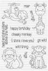 Clearly Besotted WILD THING Clear Stamps