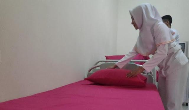 Kamar Mewah RSJ Bak Hotel Untuk Caleg Stres