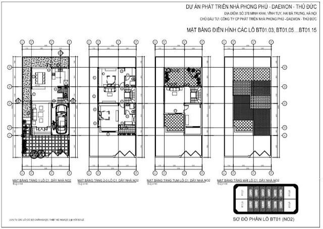 Thiết kế chi tiết biệt thự 378 Minh Khai