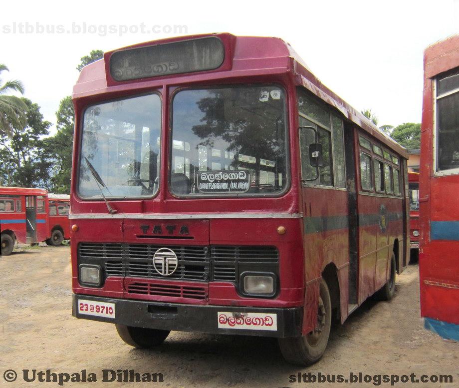 SLTB buses - ශ්රී ලංගම බස්: SLTB Modified classic TATA ...