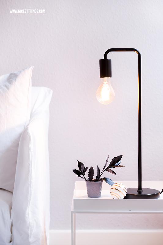 Frandsen Tischleuchte Cool mit Vintage Glühbirne