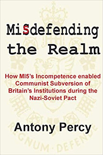 Cover of Misdefending the Realm by Antony Percy