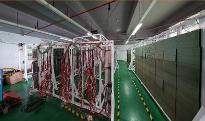 Thiết kế thi công màn hình led p5 cabinet, module tại quận Tân Bình