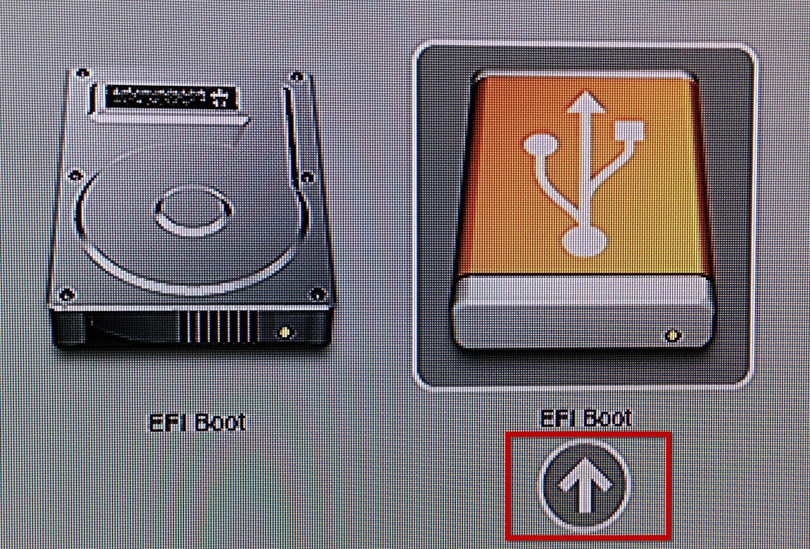 Configure Apple Mac Mini to Default Boot ESXi