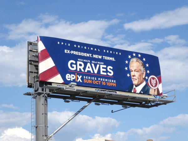 Graves series premiere billboard