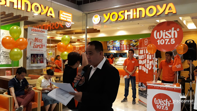 Win A Wishclusive Party with Yoshinoya and Wish FM!