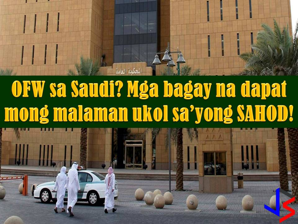 Saudi Arabia is Number 1 country as Top Destination for OFWs in the world last 2016.  Saudi Arabia is currently the largest hirer of Overseas Filipino Workers (OFWs) and has the largest Filipino population in the Middle East.  Last January to September 2016, Saudi Arabia offered around 117, 696 jobs to Filipinos according to workabroad.ph. Sponsored Links  Until now, Saudi Arabia is still opening its doors to thousands of Pinoys who want to work in the country in spite of Saudization.  If you are interested in working in Saudi Arabia, you must have information first about an important thing while in the country, laws, policies, rules, and regulation and of course, one of the reasons why you need to go abroad - it gives you a salary, your home country cannot afford.  This post is all about wages or salary of an expatriate worker in Saudi Arabia, be it a Filipino or other nationality. Information is taken from laboreducation.gov.sa.