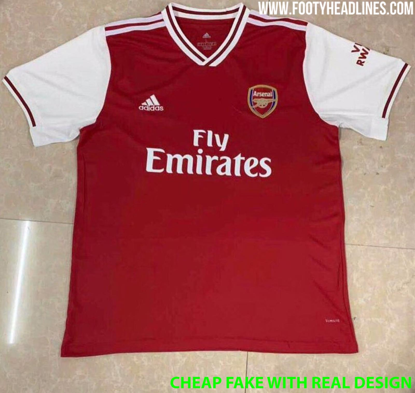 Arsenal Schedule 2020 Leaked: Arsenal 19 20 Home Kit (Fake With Real Design)   Footy