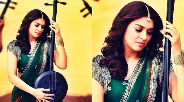 Hansika is playing the character of 'Spoorthi' in gautham nanda telugu movie