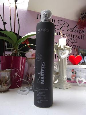 Lak na vlasy so silnou fixáciou Style Masters (Photo Finisher Hair spray)
