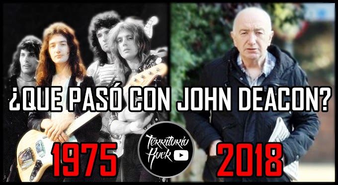 ¿Que paso con John Deacon? El legendario bajista de QUEEN (VIDEO)