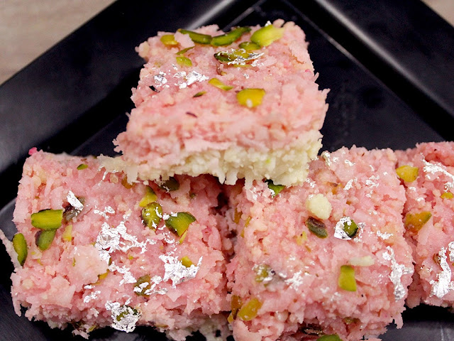 Fresh coconut barfi Recipes| Fresh Coconut Fudge
