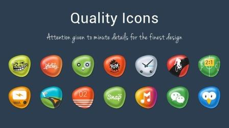 Pebbles Apex/Nova Icon Theme v4.1.5 APK Download