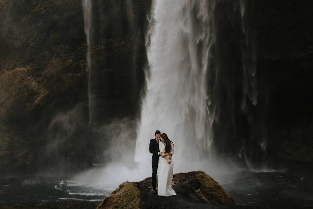 Islandia - sesja ślubna