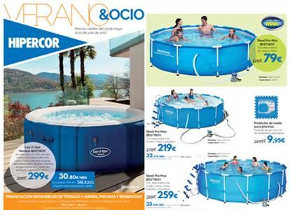 hipercor catalogo verano ocio 2017 piscinas barbacoas