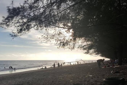 Objek Wisata Pantai Pasia Jambak Yang Menawan