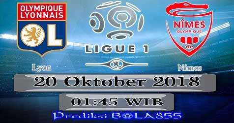 Prediksi Bola855 Lyon vs Nimes 20 Oktober 2018