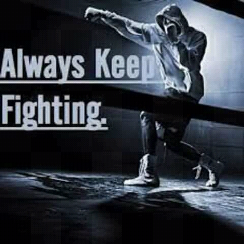 Keep fighting By Sensi Hero  Samson
