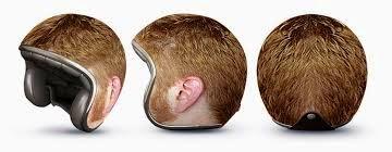Helm Rambut Pendek