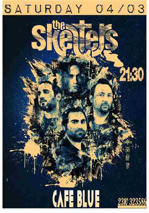 THE SKELTERS: Σάββατο 4 Μαρτίου @ Cafe Blue