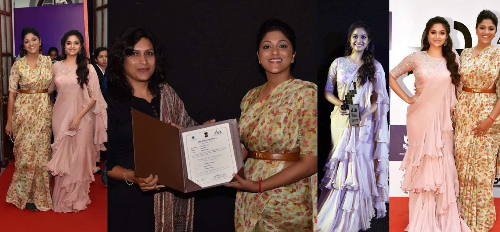 Mahanati screened in the Indian Panorama category at the 49th edition of the International Film Festival of India