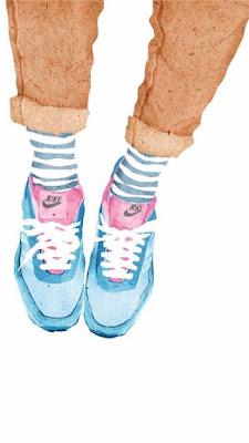 Hình nền giày đôi cực ấn tượngHình nền giày đôi cực ấn tượng