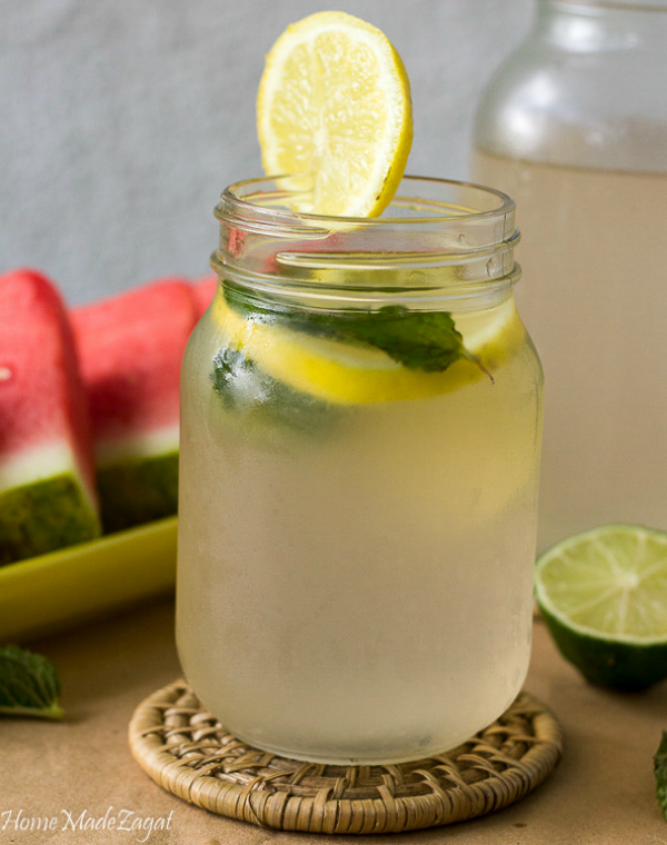 how to make sweetened lime juice