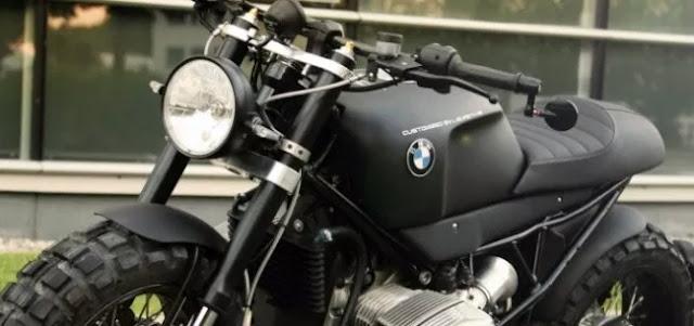 BMW 1200R độ Scrambler