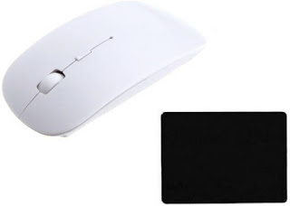 DurReey Wireless Optical Mouse With Mousepad Combo