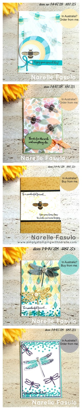Stamping By Mail - Simply Stamping with Narelle - register here - https://goo.gl/07b7rQ