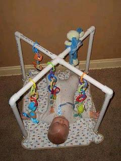 Ideas con tubos de PVC - para bebes
