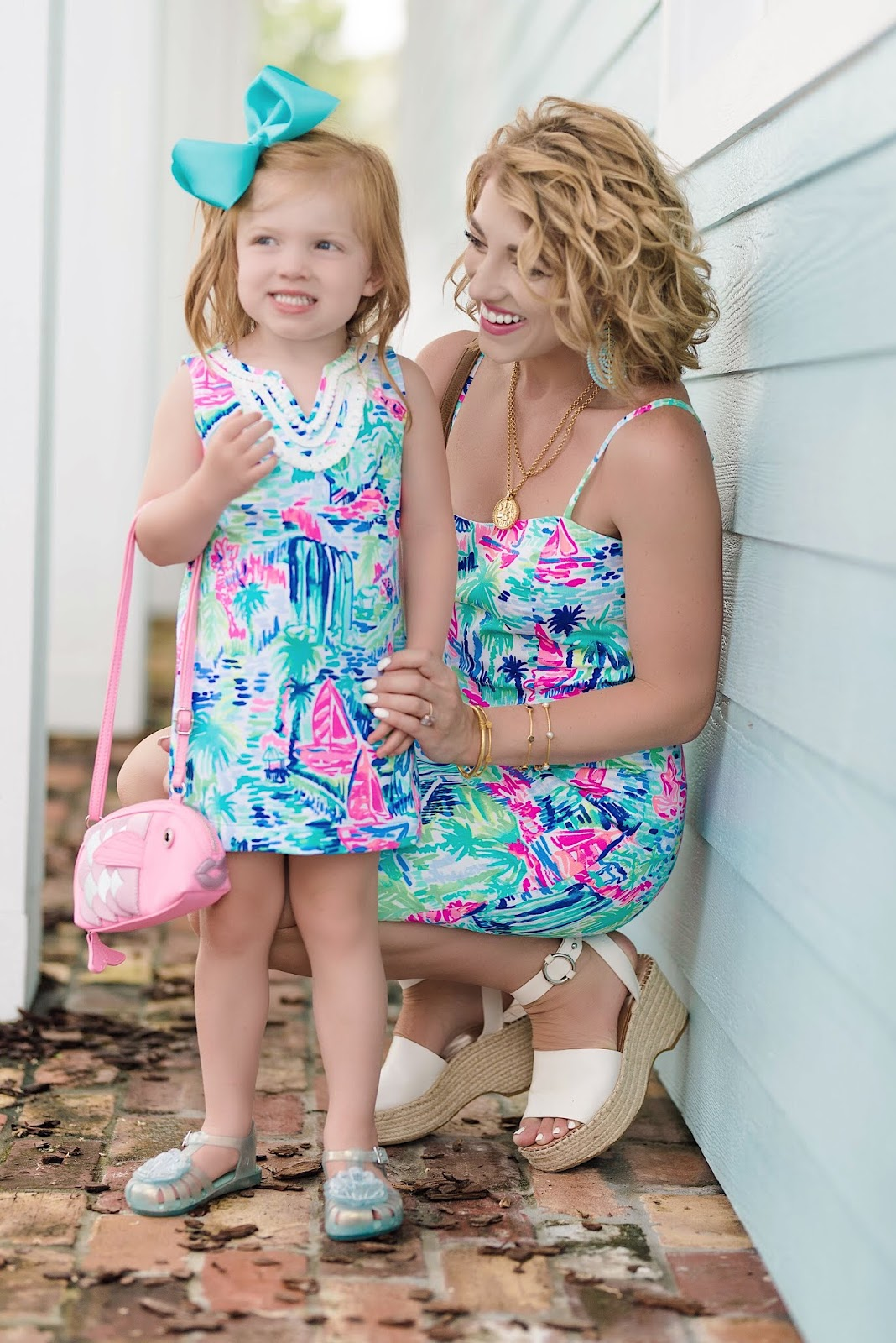 Lilly Pulitzer Shelli Stretch Shift Dress in Salt in the Air - Something Delightful Blog