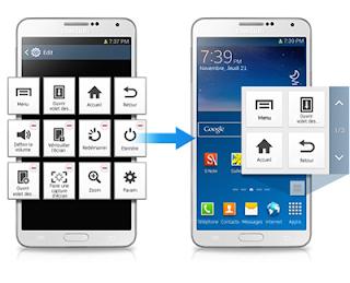 Cara Mengaktifkan dan Menggunakan Assistant Menu Samsung Tanpa Aplikasi