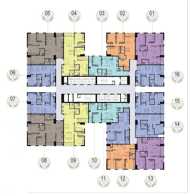 Thiết kế căn hộ tháp 35 T chung cư Imperia Garden