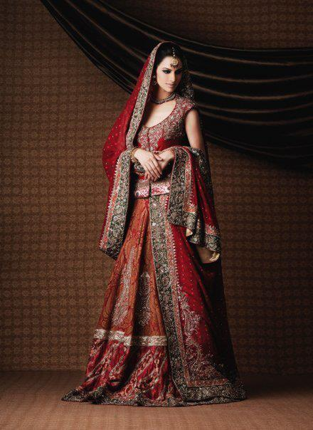 bd1d10cb7a Bridal Lehenga is most useful and fashionable dress as Bridal wear in  India, Bangladesh and Pakistan and is available at different boutique.