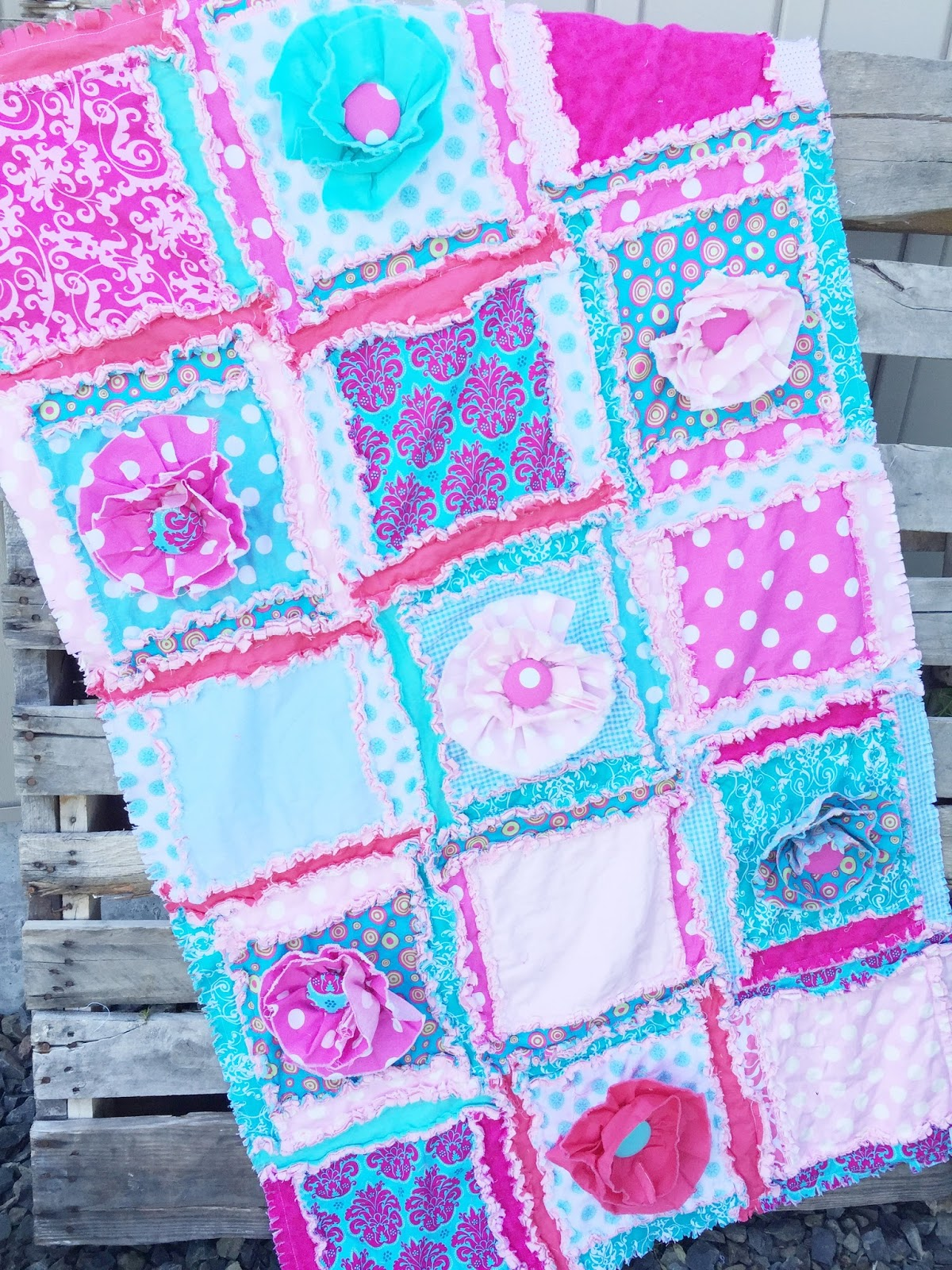 What Fabric Do I Use for Rag Quilts? from the Pro Rag Quilt