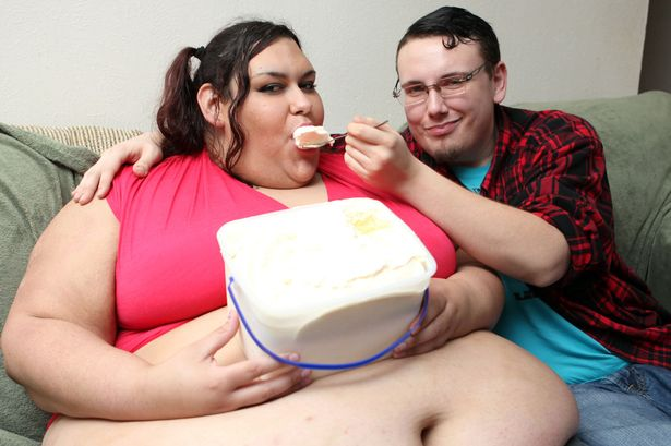 Толстый женщина и мужик — 10