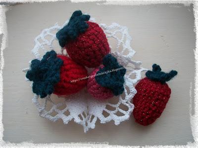 fraises au crochet
