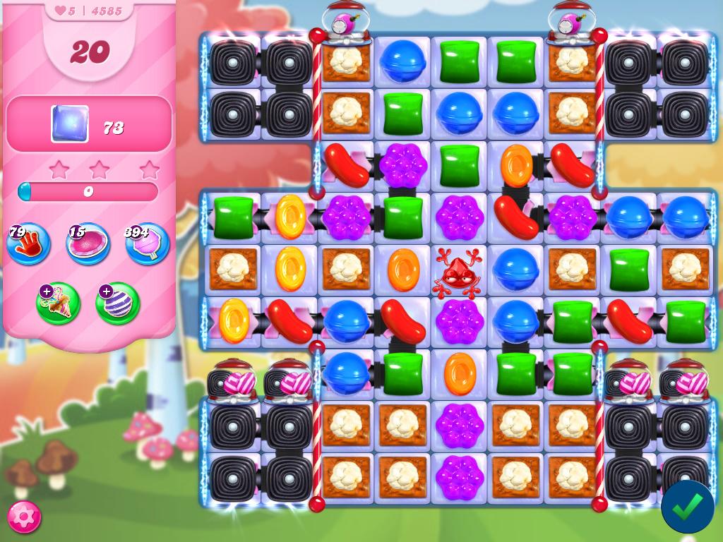 Candy Crush Saga level 4585