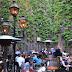 La terrasse du Pub Sainte-Élisabeth