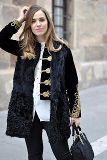 1 Garment, 3 Looks: Military Jacket and Black Vest