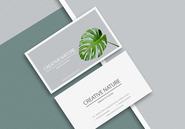 Download awesome 14 the best professional business card mockup 100 download reheart Choice Image